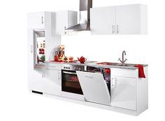 Küchenzeile »Kiel«, Breite 280 cm Jetzt bestellen unter: https://moebel.ladendirekt.de/kueche-und-esszimmer/kuechen/kuechenzeilen/?uid=79e15f29-77e3-5666-87f3-a5e416f62c08&utm_source=pinterest&utm_medium=pin&utm_campaign=boards #kueche #kuechen #kuechenzeilen #esszimmer