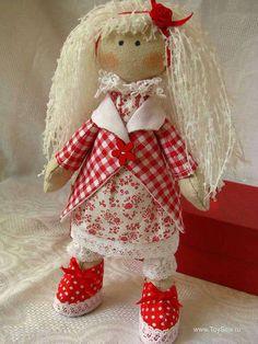 Кукла Снежка — мастер класс