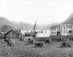 Knud Knudsen, Isfjorden seen from Romsdalen, Norway, 1888. #Norway ☮k☮ #Norge