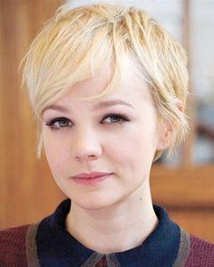 I love her short hair