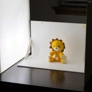 DIY softbox for craft/food photos-- I should make this for all the cupcakes I take pictures of
