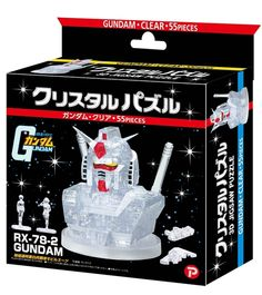 [NEWS] Crystal Puzzle Gundam and Crystal Puzzle Gundam Clear: Official REVIEW No.14 Images, INFO Release http://www.gunjap.net/site/?p=278010