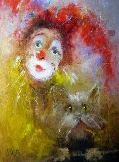 Igor V. Medvedev Tutt Art Acrylic Painting Tutorials, Acrylic Art, Drowning Art, Art Sketches, Art Drawings, Image Fruit, Clown Paintings, Image Halloween, Custom Wall Murals