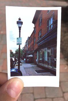 Taking the path less traveled.   #PolaroidPlaces   polaroid.com