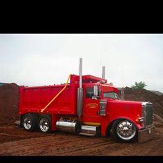 Cool Peterbilt dump truck