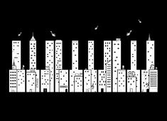 Piano Skyline Design