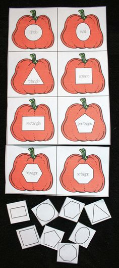 Pumpkin Matching Shape Game                                                                                                                                                     More
