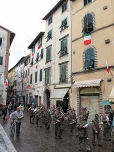 Parade in Lucca, Italy