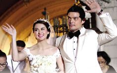 """Marian Rivera and Dingdong Dantes are expecting their first child! Marian and husband Dingdong announced the news in an interview with on GMA-7's news program """"24 Oras"""" on Monday, April 13, 2015."""
