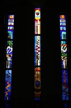 details- Glashütte Lambert - stained glass window