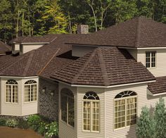 Best Duration Brownwood Shingles For The Home In 2019 Roof 400 x 300