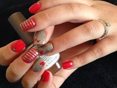 #thenailgenius #nailart #edengelpolish #melbourne #handpainted #valentinesday #morgantaylorpolish