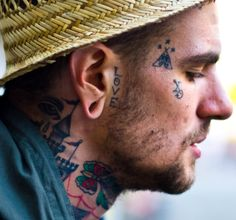 Fences ♥ on Pinterest | Fence, Face Tattoos and Artists
