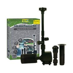 """TetraPond FK3 Filtration Fountain Kits ...  A possible filter and fountain for my """"someday"""" deck pond."""