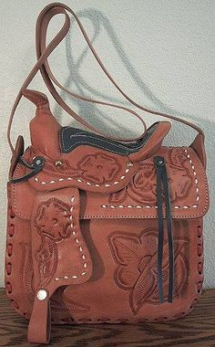 Leather tooled