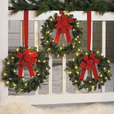 Your Christmas window decorations are one of them. Christmas window decorating are important and it's great that you are looking out for ideas on time. Best Outdoor Christmas Decorations, Diy Christmas Lights, Christmas Porch, Xmas Decorations, Christmas Wreaths, Christmas Crafts, Christmas Ornaments, Outdoor Decorations, Outdoor Ideas