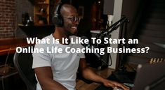 A new article by Jack, a few things to keep in mind when you consider becoming a life coach online. #onlinecoaching #lifecoaching #onlinebusinessoptions
