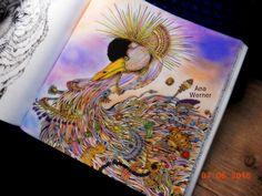 #imagimorphia #Animorphia #DoodleAInvasao #livrosdecolorirantiestresse…
