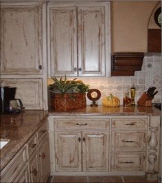 Crackling finish on kitchen cabinets - South Jersey project | Crafts ...