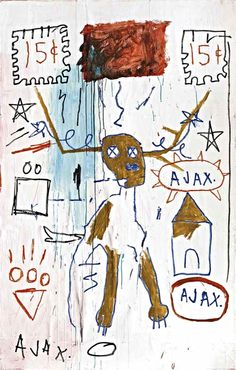 slide_germ-Jean-Michel Basquiat,wall poster,Fine art print,Gallery Canvas wrap,(Custom Sizes Up To 60 inches) Jean Basquiat, Jean Michel Basquiat Art, Bad Painting, Basquiat Paintings, Pop Art, Outsider Art, Illustrations, American Artists, Fine Art Prints