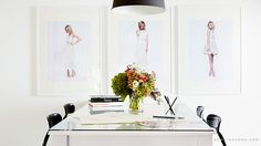 Paper Crown offices via domainhome.com #LaurenConrad
