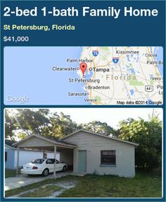 2-bed 1-bath Family Home in St Petersburg, Florida ►$41,000 #PropertyForSale #RealEstate #Florida http://florida-magic.com/properties/88581-family-home-for-sale-in-st-petersburg-florida-with-2-bedroom-1-bathroom