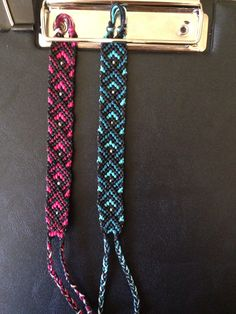 Normal Friendship Bracelet Pattern #10872 - BraceletBook.com