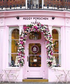 A London cake shop
