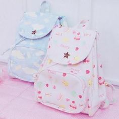 """Cute kawaii printing student backpack kawaii clothing online store. sponsorship review and affiliate program opened here! - use this coupon code to get 10% off """"discountkawaii"""""""