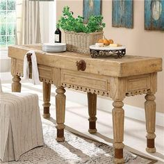 Authentic Tables For A French Country Kitchen Sharon Santoni Island Table Islands