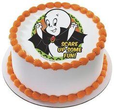 Casper Scare Up Some Fun Edible Cake Side Print