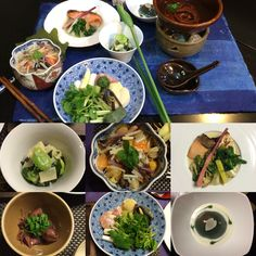 Washoku-cooking in April