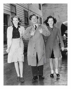 Judy Garland, Mickey Rooney & Shirley Temple