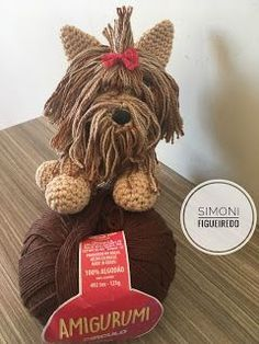 Simoni F. Animal Knitting Patterns, Crochet Patterns Amigurumi, Stuffed Animal Patterns, Amigurumi Doll, Crochet Toys, Fun Hobbies, Animal Projects, Love Crochet, Crochet Animals