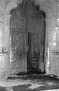 Secuelas del ataque brutal al portón de la Preparatoria 3. de Armando Lenin Salgado