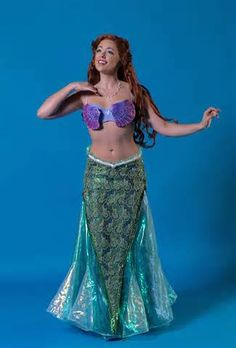 little mermaid costumes for the stage - - Yahoo Image Search Results Little Mermaid 2016, The Little Mermaid Musical, Little Mermaid Characters, Little Mermaid Costumes, Mermaid Skirt Costume, Mermaid Costume Makeup, Merman Costume, Prince Eric Costume, Peter Pan Costumes