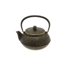 Iwachu 21 oz. Gold & Black Maple Tea Pot — Seito | New York