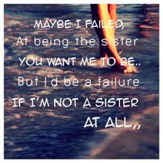 For the love of my sisters.