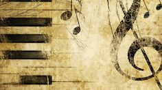 Old Music Score Background
