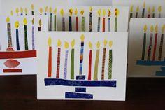Hanukkah greeting cards by Dim Sum, Bagels, and Crawfish