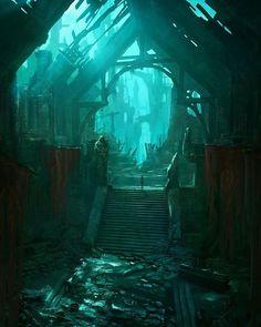 Title: Ruins  Artist: Zihong Li