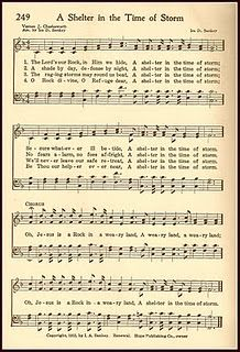 Free Printable Hymn - A Shelter in the Time of Storm