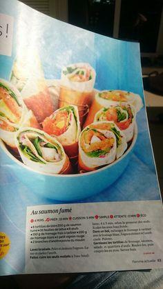 Wrap saumon