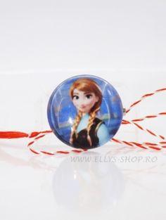 Brosa martisor pentru fetite imagine personaj Frozen- Ana