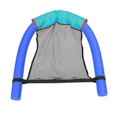 2017 New Novelty Bright Color Pool Floating Chair Swimming Pool Seats Amazing Floating Bed Chair Pool Noodle Chair Wholesale - Blue Size 1 Floating Chair, Floating In Water, Caravan, Pool Bed, Water Hammock, Hammock Beach, Pool Party Kids, Swimming Equipment, Pool Chairs