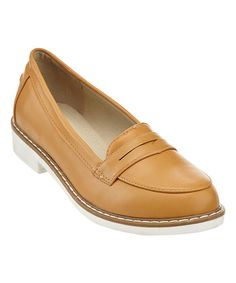 Love this Tan Tag Loafer on #zulily! #zulilyfinds