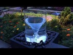 Vortex water fountain - YouTube