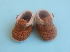 (Crochet-Crosia) how to crochet baby booties - YouTube