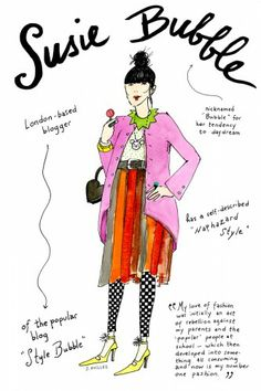 Susie Bubble — blogger by Joana Avillez Why we love her: Her encyclopedic knowledge of fashion, and her penchant for color