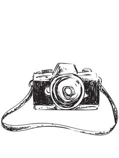 If you're thinking of buying a digital camera and haven't done any preliminary work, it's really hard. There are dozens of models of different sizes at different prices in the … Camera Sketches, Camera Drawing, Book Drawing, Drawing Sketches, Camera Painting, Camera Logo, Camera Art, Camera Tips, Kamera Tattoos